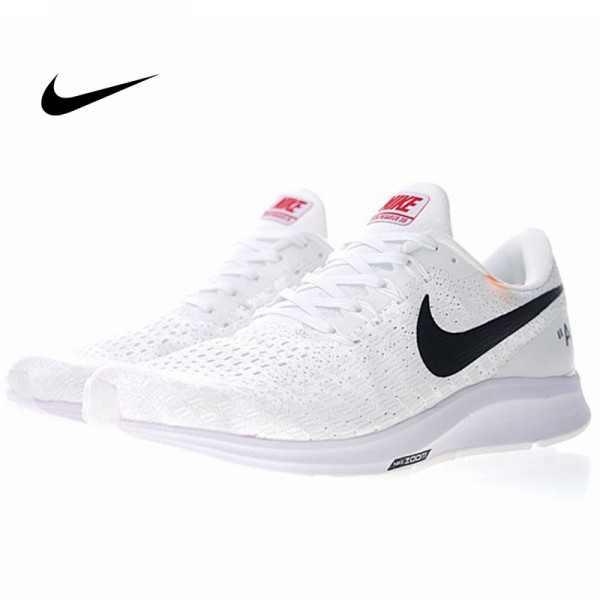Off white x Nike Air Zoom Pegasus 35 白黑 情侶款 輕量慢跑鞋 時尚 百搭 942851-100