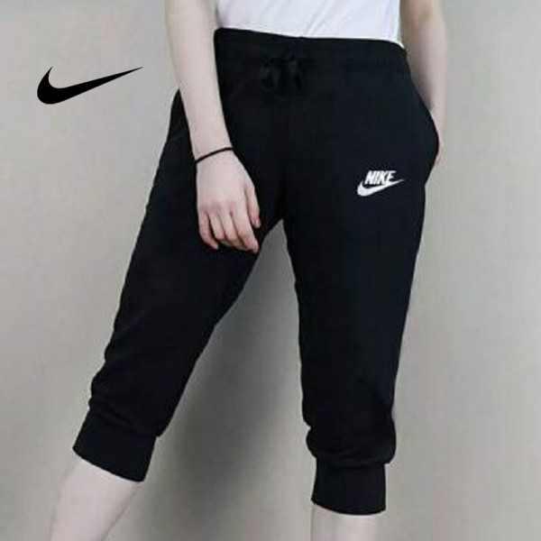 Nike 經典 843000 女款 七分褲 運動短褲 黑色 潮流 時尚百搭