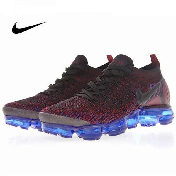 Nike Air Vapormax Flyknit 2 黑魔紫電藍 情侶款 飛線 慢跑鞋 休閒 百搭 942843-006