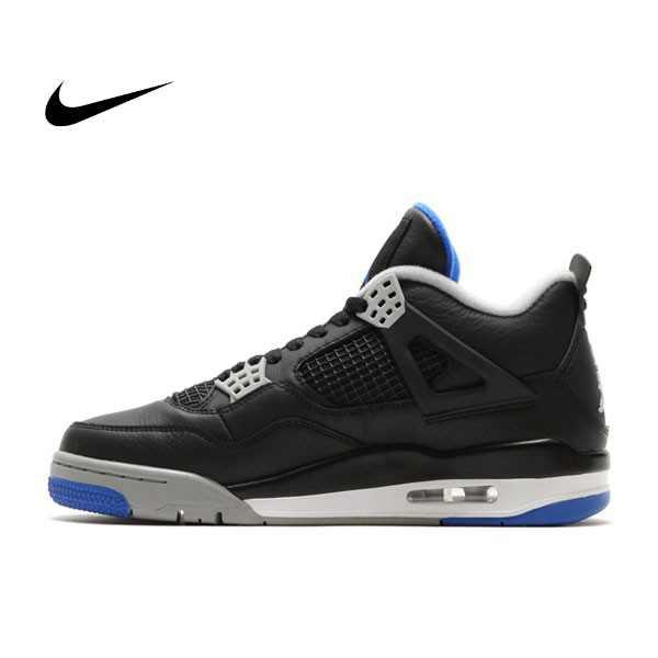NIKE AIR JORDAN 4 RETRO GAME ROYAL 黑藍 男鞋 籃球鞋 308497-006 - 耐吉官方網-nike 官網