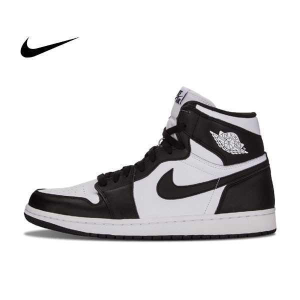 Air Jordan 1 Retro High OG 黑白 黑頭 情侶鞋 555088 010 - 耐吉官方網-nike 官網