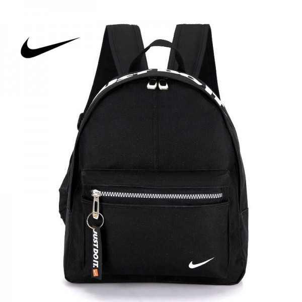 Nike 迷妳後背包 男童 女童 書包 小背包 黑白