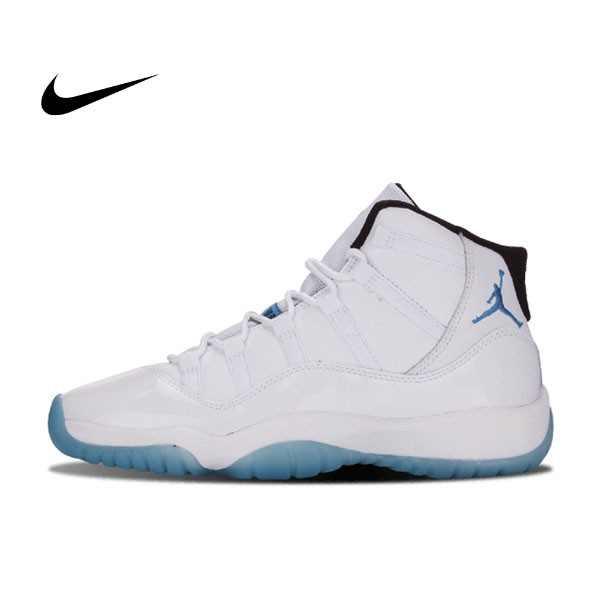 NIKE AIR JORDAN 11 Legend Blue GS 哥倫比亞 白藍 女鞋 378038-117 - 耐吉官方網-nike 官網