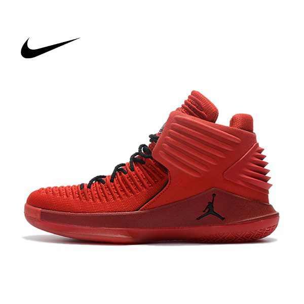"Air Jordan XXXII 32代 ""Rosso Corsa"" 賽車紅色 高筒籃球鞋 男款 耐磨 時尚 百搭 AH3348-601"