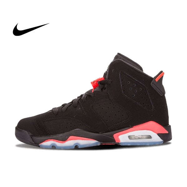 Nike Air Jordan 6 Retro BG Infrared 黑紅 AJ6 大魔王男女鞋 384665 023 - 耐吉官方網-nike 官網