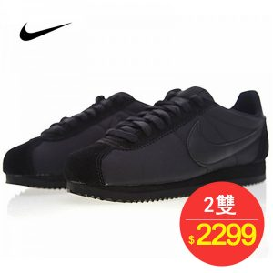 d440b06eabbe5571 1 300x300 - Nike Classic Cortez 經典 全黑 布面 情侶款 運動 休閒時尚 807472-007