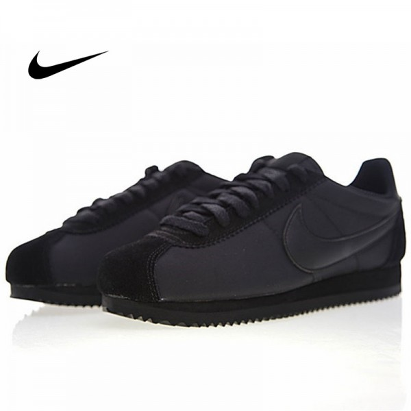 Nike Classic Cortez 經典 全黑 布面 情侶款 運動 休閒時尚 807472-007