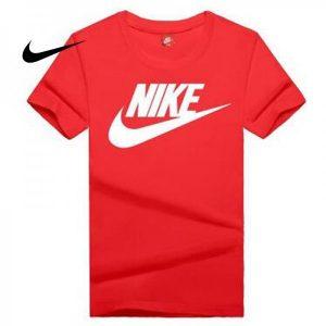 d56ef88d5a41144b 300x300 - NIKE 情侶款 夏季新款 基礎 純棉T恤 男女款 紅白 經典 百搭