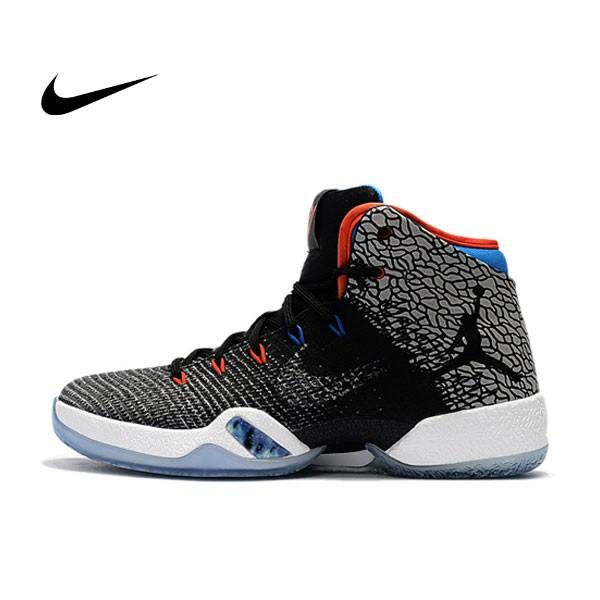 Air Jordan XXXI WHY NOT 喬31 威少 裂紋 高筒 籃球鞋 灰黑白 男款 AJ30.5 AA9794-003