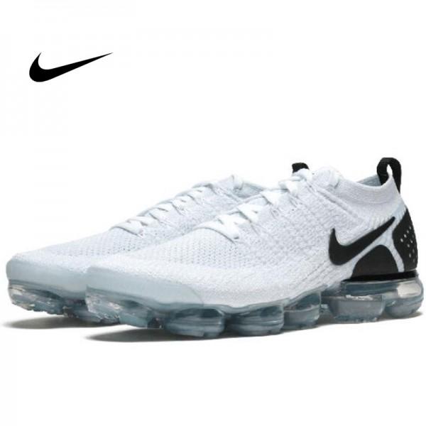 Nike Air Vapormax Flyknit 2 淺藍黑 情侶款 飛線 大氣墊慢跑鞋 時尚 百搭