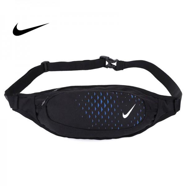 Nike 腰包 騎行包 零錢包 胸包 斜挎包 黑藍 時尚百搭 NK-1641