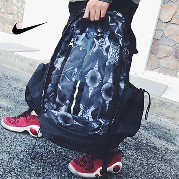 科比 Nike Kobe 籃球包 大容量 雙肩包 旅行包 學生書包 鞋袋包 黑藍 49*27*19