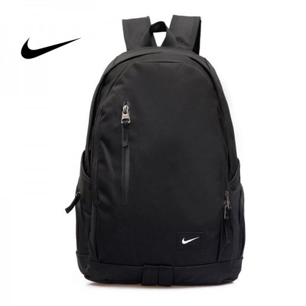 Nike 豎拉鏈款 雙肩包 運動包 旅行包 帆布包 書包 時尚百搭 寬30*厚16*高47