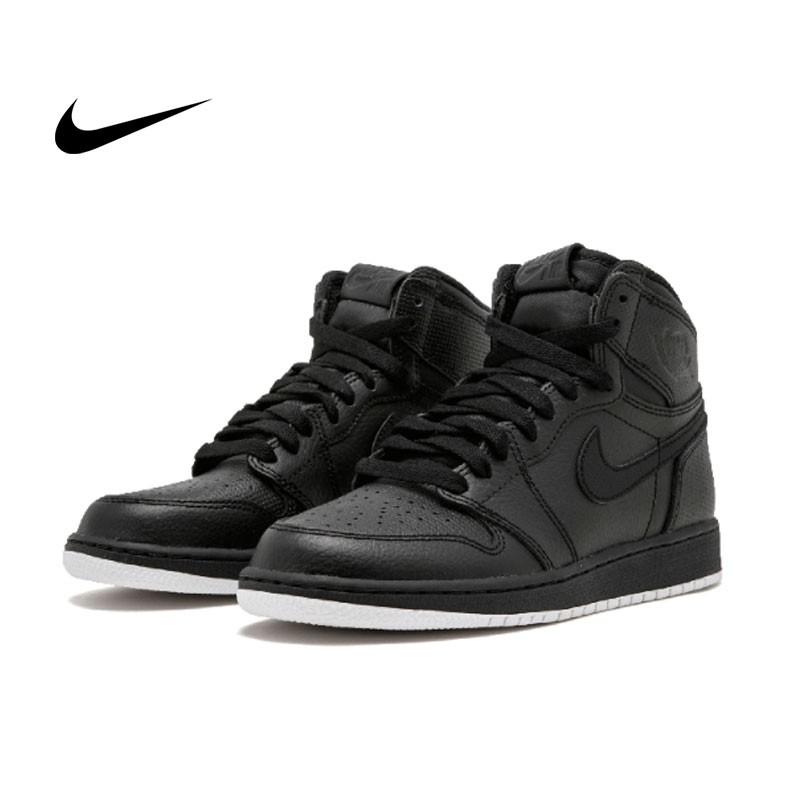 Air Jordan 1 Retro High OG BG - 575441 002 黑色 白底 高筒 籃球鞋 情侶款
