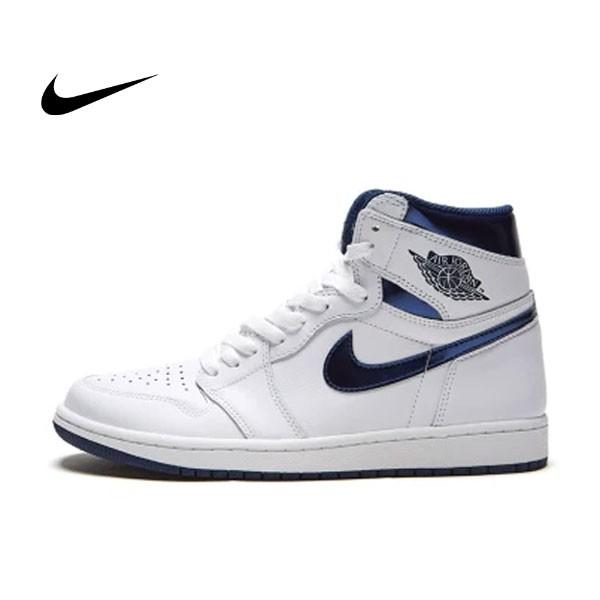 AIR JORDAN 1 RETRO HIGH OG 喬丹一代 高筒 白藍 男款 籃球鞋 555088-106 - 耐吉官方網-nike 官網