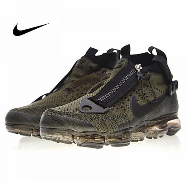 Nike Air VaporMax 機能 拉鏈鞋 中筒 氣墊 橄欖綠黑 男款 休閒 百搭 899473-020