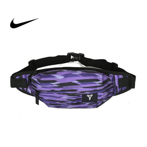 Nike 腰包 騎行包 零錢包 騎行包 胸包 斜挎包 紫色 時尚百搭 NK-1641