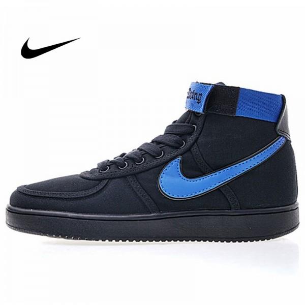 Vandal-A x Nike Vandal High OG 教父 尼龍布 高筒 籃球鞋 男款 黑藍 休閒 百搭 318330-015