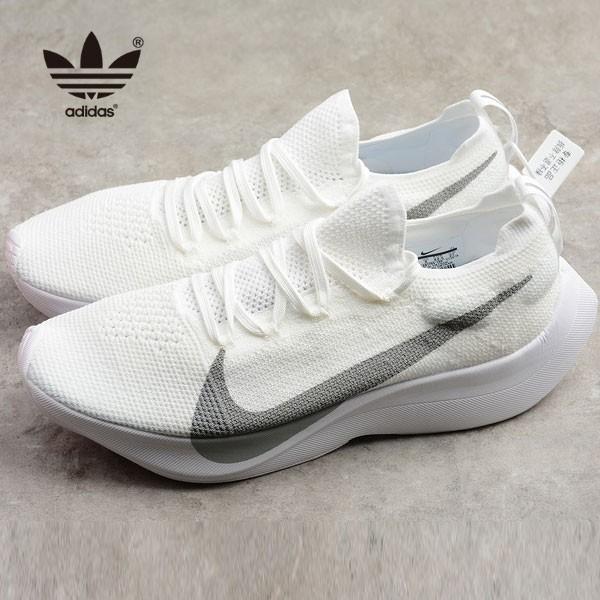 Nike Vapor Street Flyknit 白色 馬拉松 跑鞋 情侶款 時尚 百搭-熱銷推薦❤️