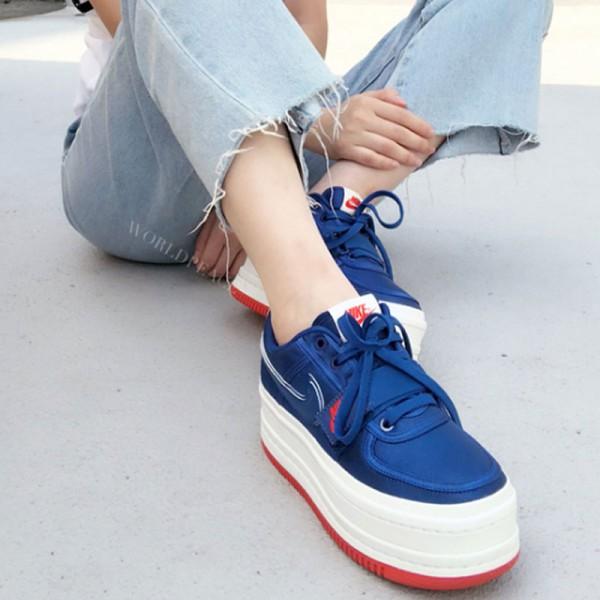 Nike Vandal 2k Surprise 女鞋 復古 增高 厚底 松糕鞋 藍色-現貨預購❤️