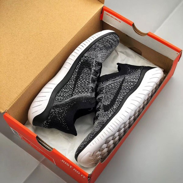 Nike Free Flyknit 5.0 赤足 灰黑色 男款 飛線 透氣 舒適 慢跑鞋-新品駕到❤️