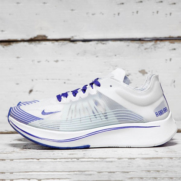 Nike Zoom Fly SP 女款 白紫 馬拉松 競速 緩震 運動 跑步鞋 透氣 舒適-超熱賣❤️