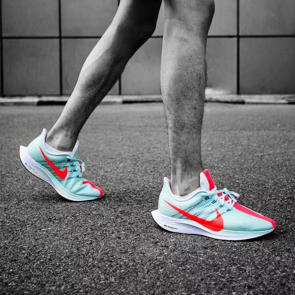 Nike Pegasus Turbo Zoom X React 綠色 馬拉松跑步鞋 情侶款-限時特賣❤️