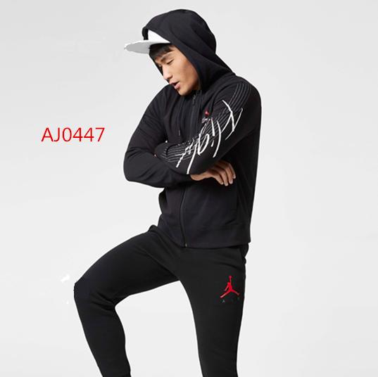 Air Jordan 連帽外套 休閑 運動 純棉 舒適 黑色 潮流-熱銷推薦❤️