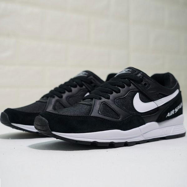 Nike air span 2 男子 跑步鞋 黑白色 透氣 舒適 休閒運動-現貨預購❤️