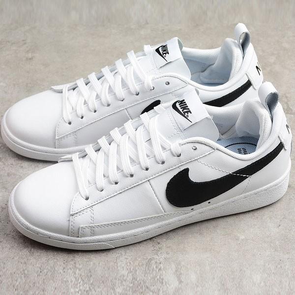 Nike Blazer Low Le 開拓者 白黑 男女鞋 休閒板鞋 經典-熱銷推薦❤️