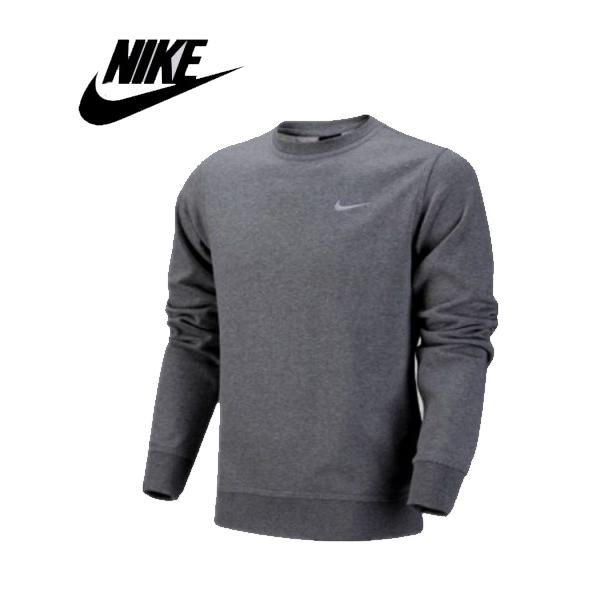 Nike 陳冠希同款 經典 長袖 套頭 圓領衛衣 灰色 運動 休閒-新品駕到❤️