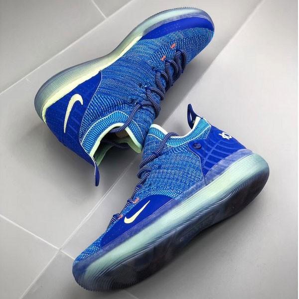 Nike Zoom KD11 籃球鞋 寶藍色 男款 飛線 耐磨 防滑-現貨秒殺❤️
