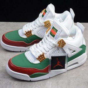 3e2c7404cda6dd83 300x300 - Air Jordan 4 RETRO Gucci 聯名限定款 白綠紅 休閒籃球鞋 男款-超熱賣❤️