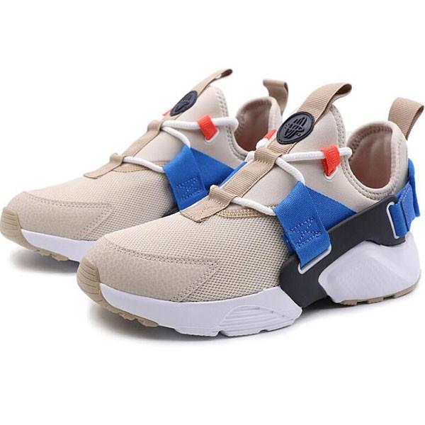 Nike Air Huarache City Low 華萊士 女款 卡其色 運動 休閑鞋-熱銷推薦❤️
