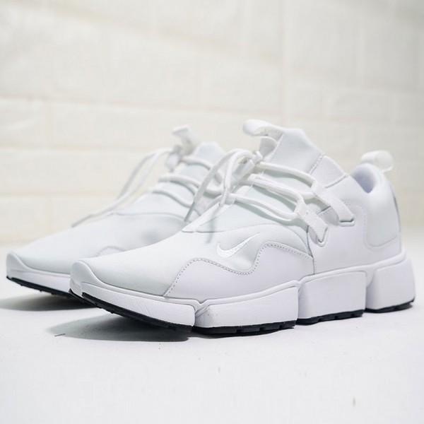 Nikelab Pocket Knife DM 分段式 護外 百搭 慢跑鞋 純白色 男鞋-秒殺款❤️