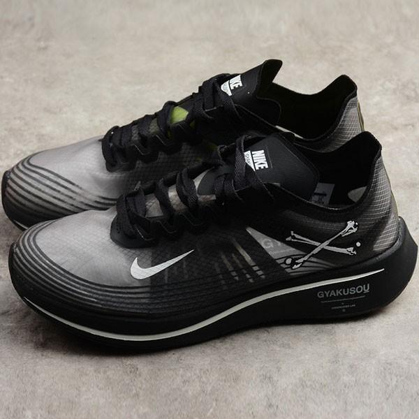 Nike Zoom 馬拉松慢跑鞋 黑灰色 透氣 舒適 男款 休閒 運動-現貨預購❤️