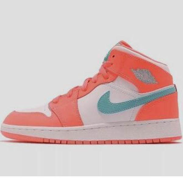 Nike Air Jordan 1 Retro High 橙白色 高筒 薄荷綠鉤 女鞋-現貨預購❤️
