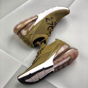 6555cb866174c917 300x300 - Nike Air Max 270 網面 半掌氣墊跑步鞋 軍綠色 運動 男款-限時特賣❤️