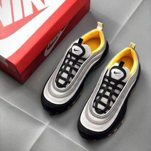 68529bf4c35bbc9a 300x300 - Nike Air Max 97系列 百搭 復古 全掌氣墊 慢跑鞋 黑白色-現貨預購❤️
