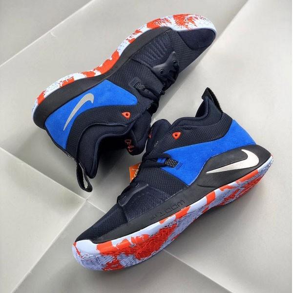 Nike 喬治保羅二代 Sony PlayStation 男子籃球鞋 藍色 耐磨 防滑-現貨預購❤️