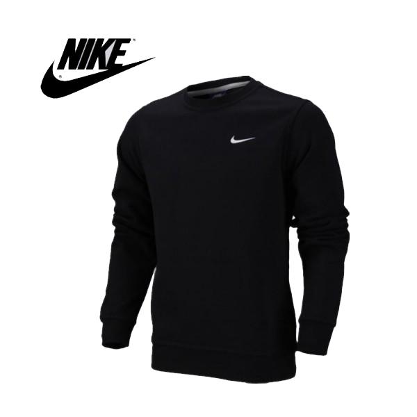 Nike 陳冠希同款 經典 長袖 圓領 套頭衛衣 黑色 休閒 百搭-熱銷推薦❤️