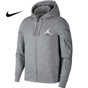 7d4cf6da91b3fe50 300x300 - Air Jordan連帽外套 休閑 運動衛衣 純棉 灰色 情侶款 新品-百搭簡約❤️