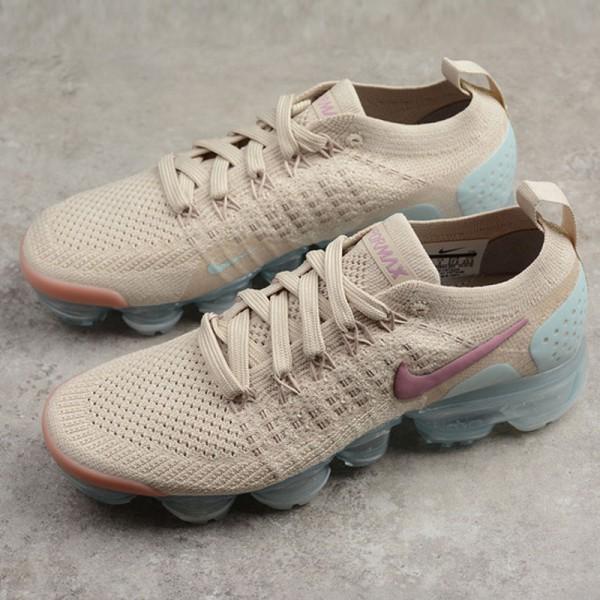 Nike Air VaporMax Flyknit 2代 全掌氣墊跑步鞋 卡其色 女款 新品-超熱賣❤️