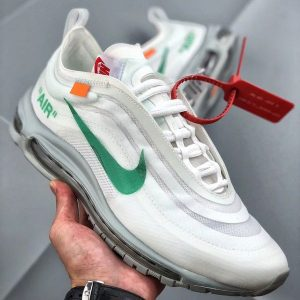 8ce757c653986d98 300x300 - Off-White x Nike Air Max 97 子彈頭 全掌氣墊慢跑鞋 白綠色 男款-秒殺款❤️