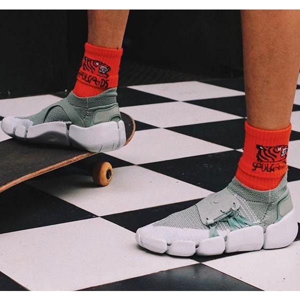Nike Footscape Flyknit DM 足步 飛織 機能 忍者襪子鞋 抹茶綠-新品駕到❤️