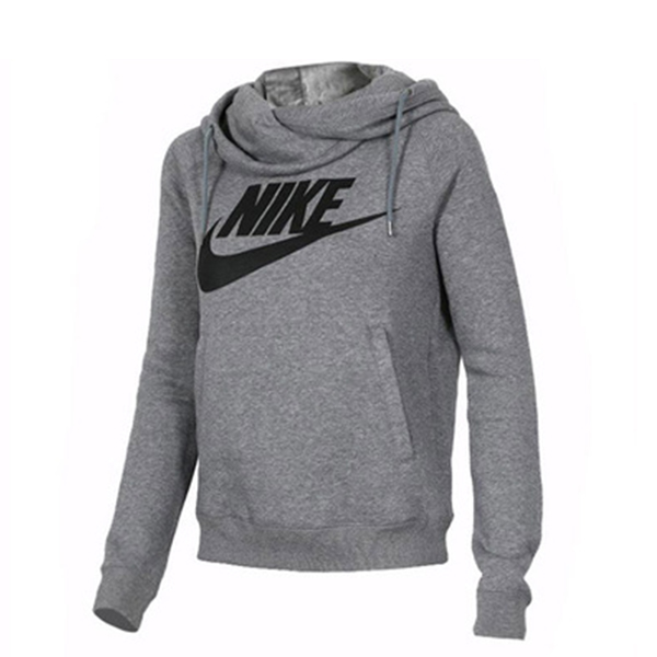 NIKE 秋季 新款 運動衛衣 針織 保暖 透氣 套頭衫 灰色-獨家發售❤️