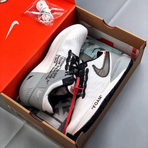 Off white x Nike Air Zoom Structure 飛織 慢跑鞋 男鞋 白色 時尚-熱銷NO1❤️