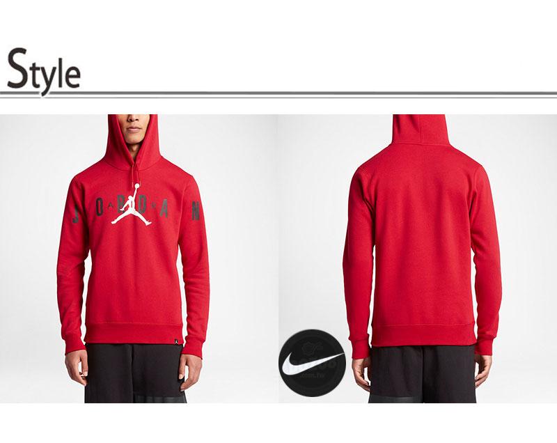ae78ac48db4450763cc4d16e4c9614af - Air Jordan 運動衛衣 連帽衛衣 籃球服 加厚 红色 潮流 百搭-現貨秒殺❤️