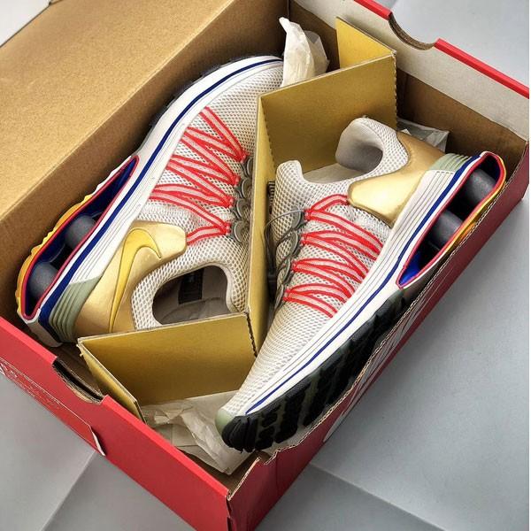 Nike Shox Gravity Luxe 氣柱 緩震 白金 跑鞋 男女鞋 新品-熱銷推薦❤️