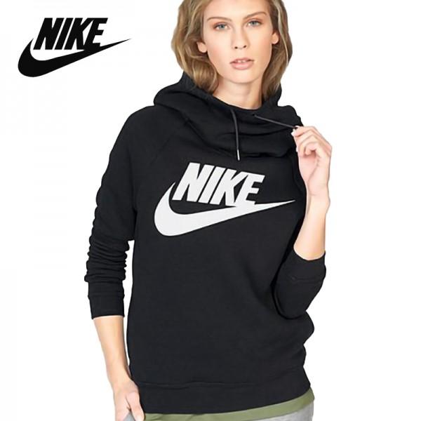 NIKE 新款 運動 連帽衛衣 針織 保暖 透氣 套頭衫 黑色-熱銷NO1❤️